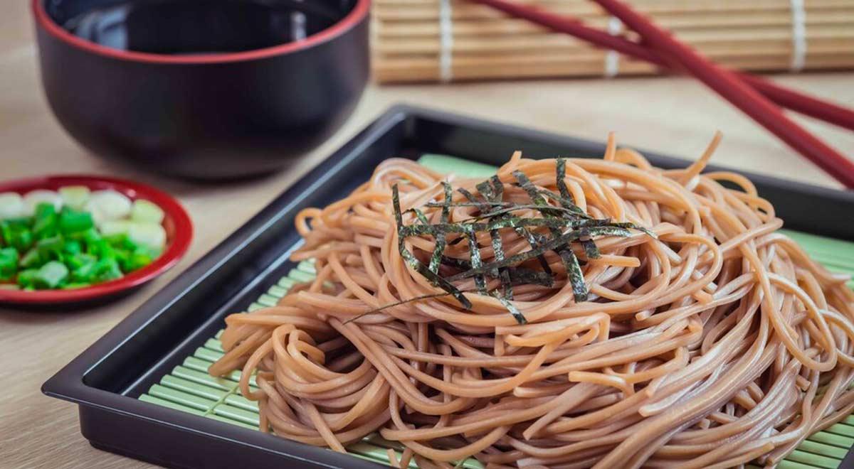 Noodles a base Soba