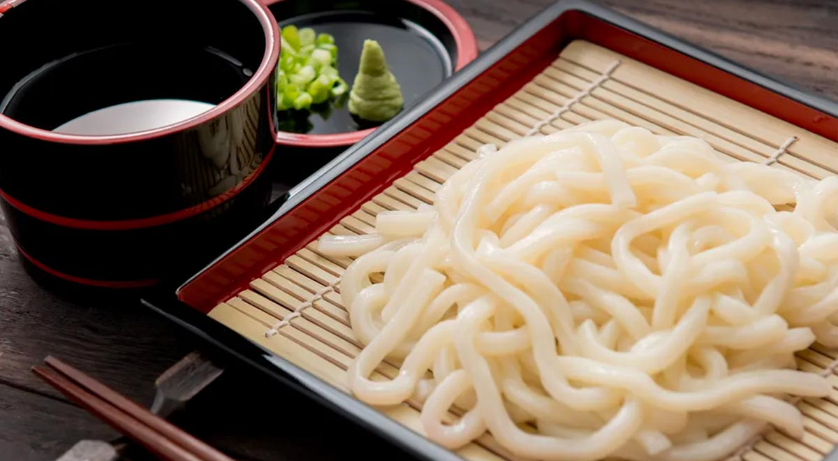 Noodles a base Udon