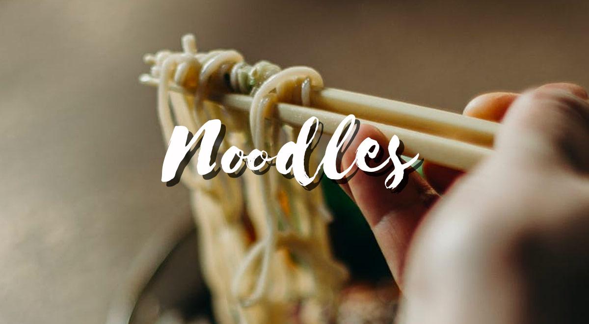 I differenti tipi di Noodles